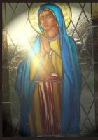 Witraż sakralny - Maria matka Jezusa