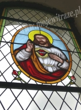 Witraż - Serce Jezusa