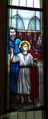 Odnalezienie Jezusa - witraże