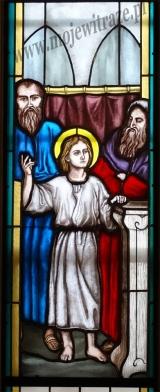 Witraże - Odnalezienie Jezusa