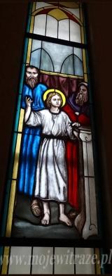 Witraż - Boleść trzecia: Zgubienie Jezusa