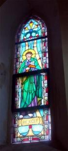 Witraż sakralny - Św. Józef