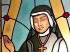 Św. Faustyna Kowalska - witraż