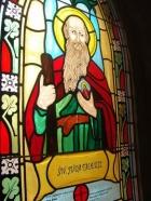 Święty Juda - witraż