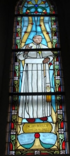 Papież Jan Paweł II - witraże sakralne